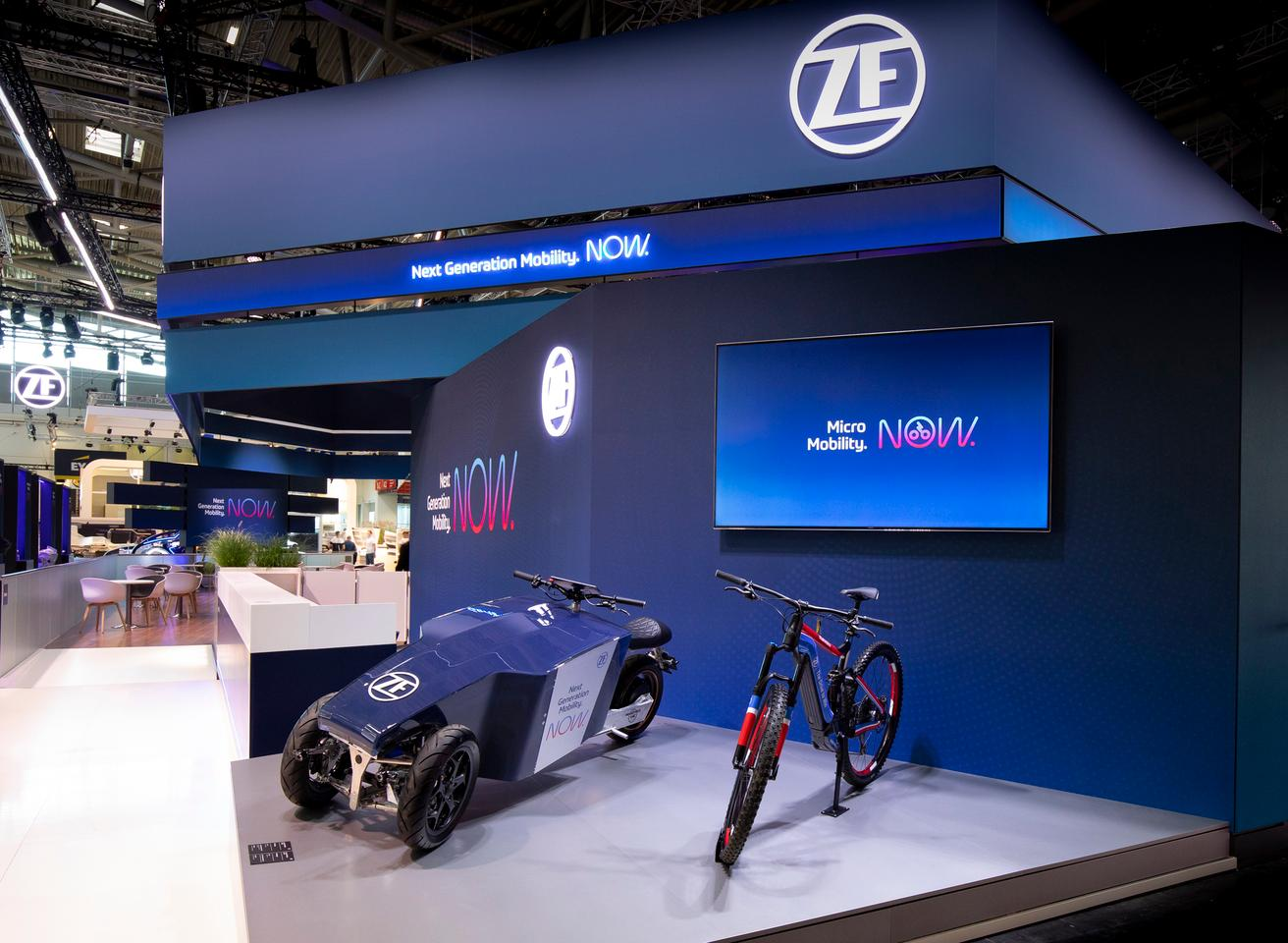 The Lastkraftflitzer was on display at the IAA Mobility 2021 show, earlier this month