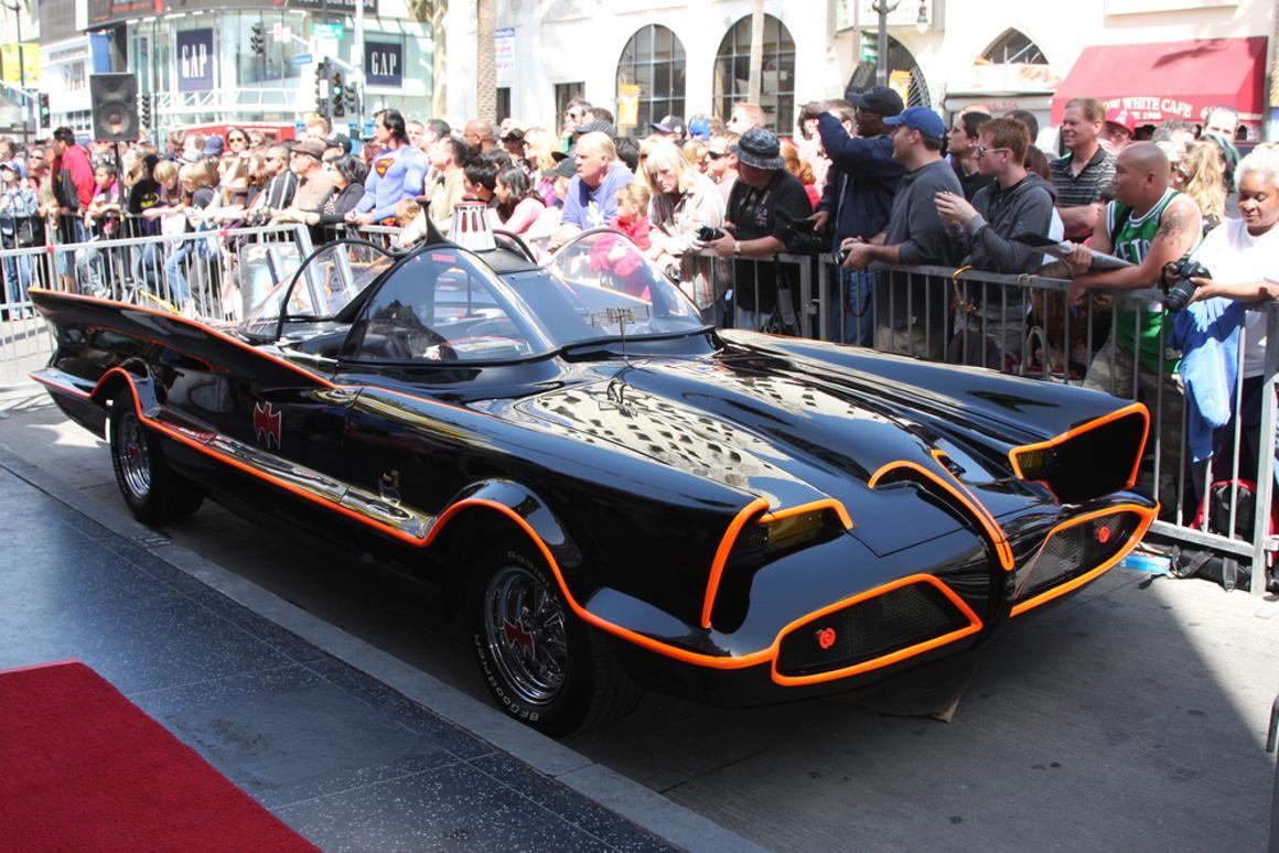 The original Batmobile is being auctioned off next month (Photo: Helga Esteb / Shutterstock.com)