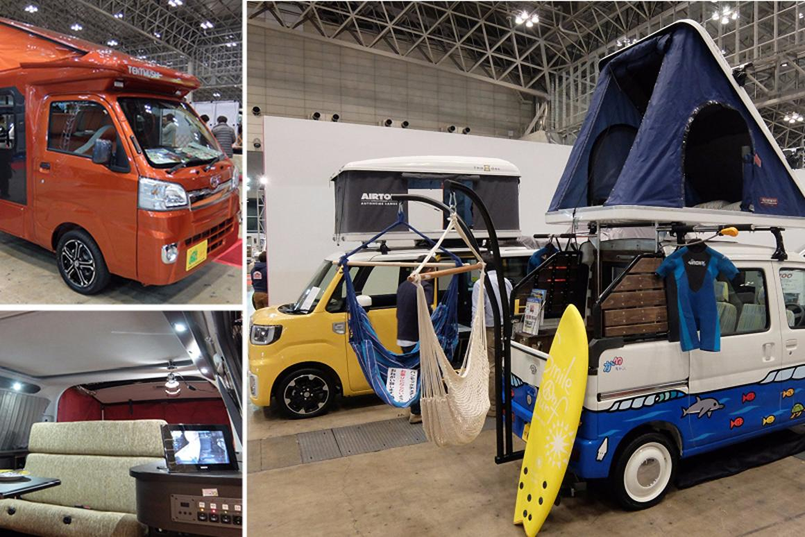 In pictures: The Japan Camping Car Show 2016