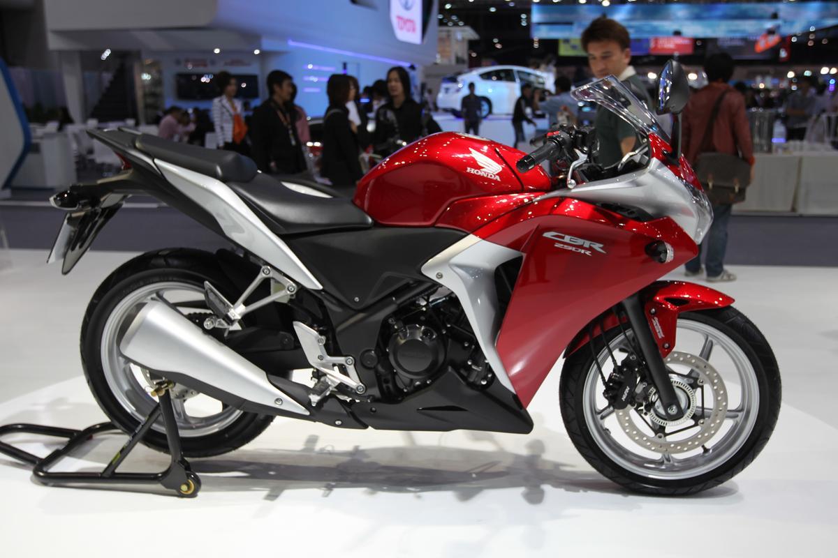 Honda's 2011 CBR250R