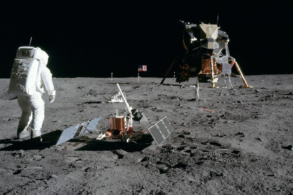 The NASA guidelines are intended to protect historic US landing sites, such as Apollo 11's (Image: NASA)