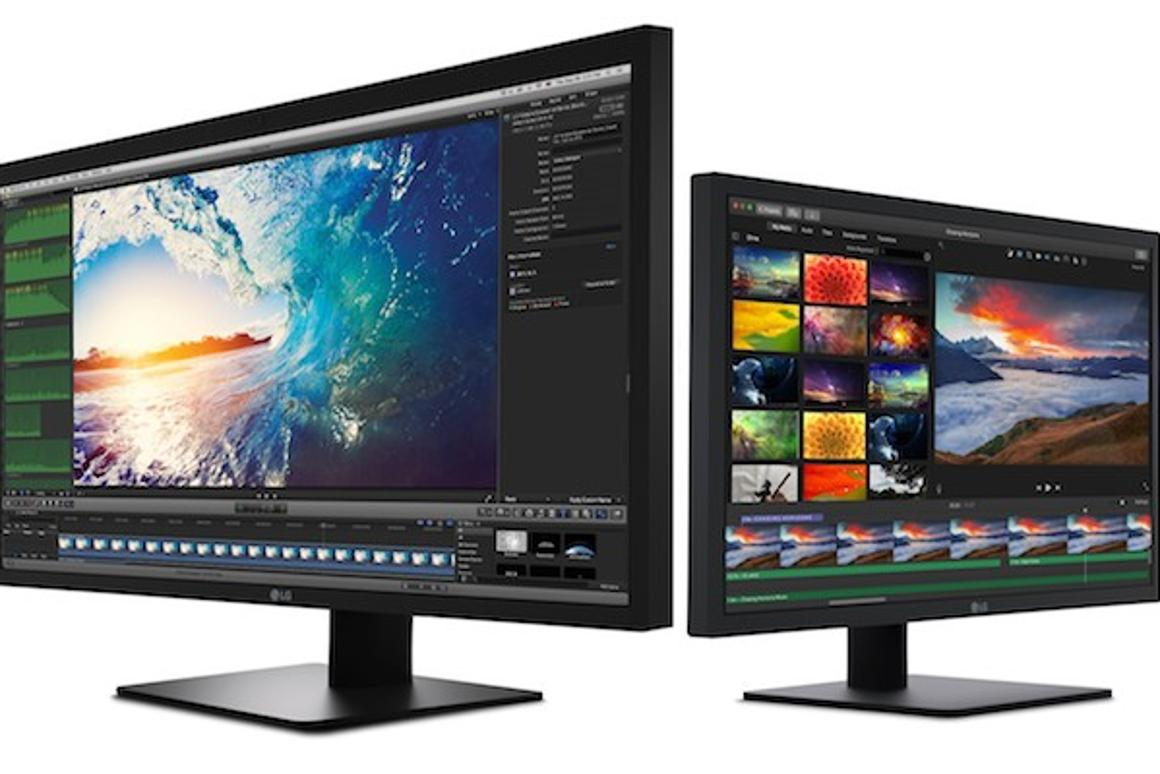 LG outs 4K and 5K MacBook Pro monitors