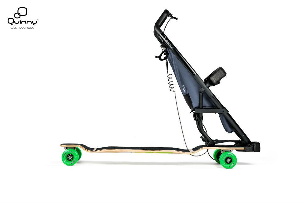 The unusual-looking Longboardstroller is sure to turn heads
