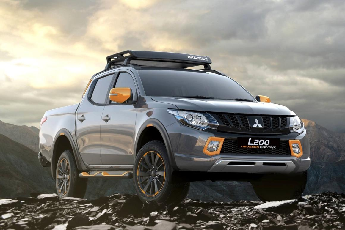 The Mitsubishi L200 concept that will debut at the Geneva Motor Sow