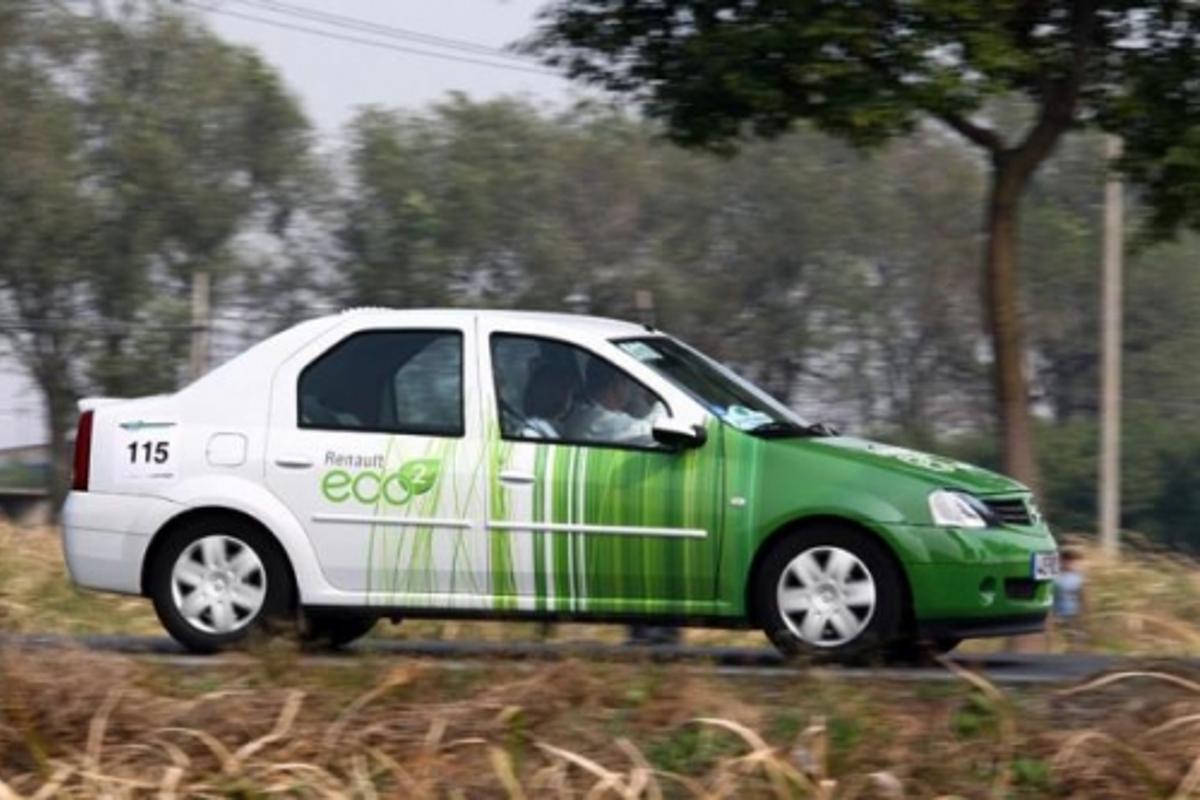 Renault's eco² at the Challenge Bibendium