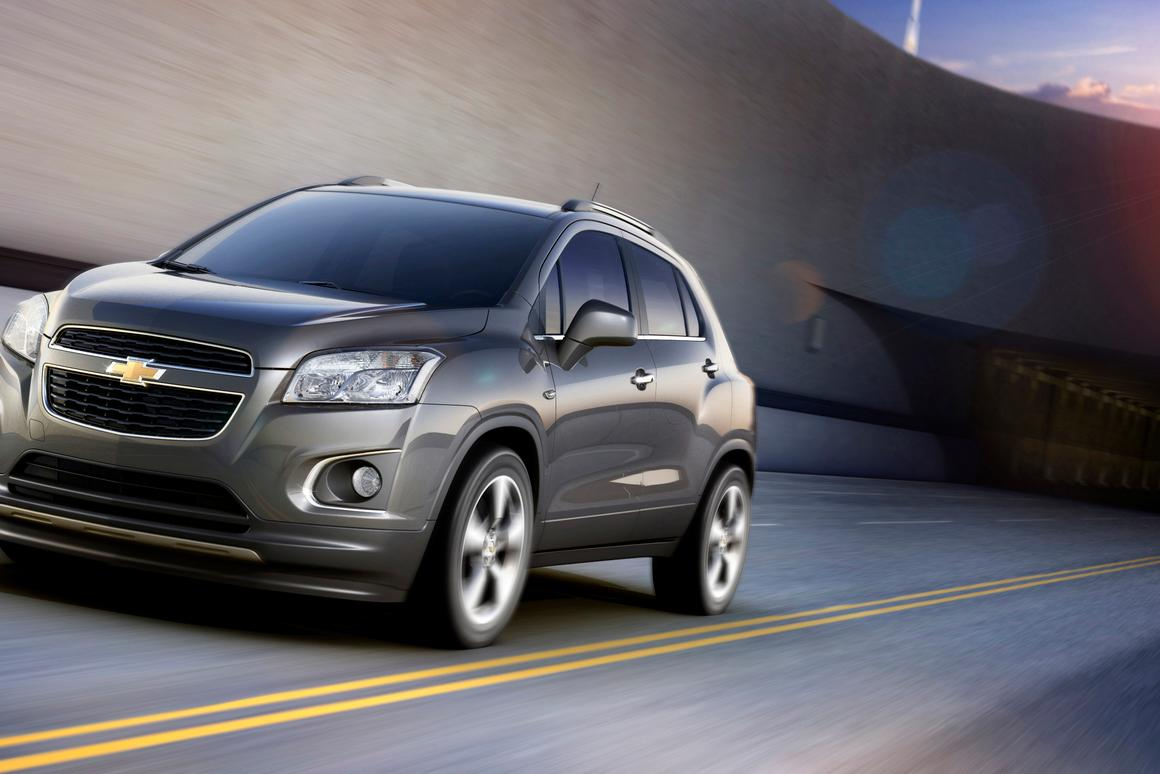 The Chevrolet Trax will be rolled-out in 140 markets from the end of 2012