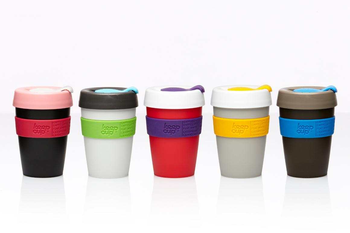 "KeepCup, who claims to be ""the world's first barista standard reusable coffee cup"", has arrived on the shores of Italy"