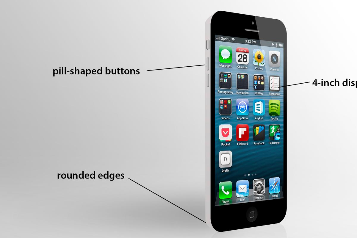 Our quick render provides a rough sketch of the budget iPhone
