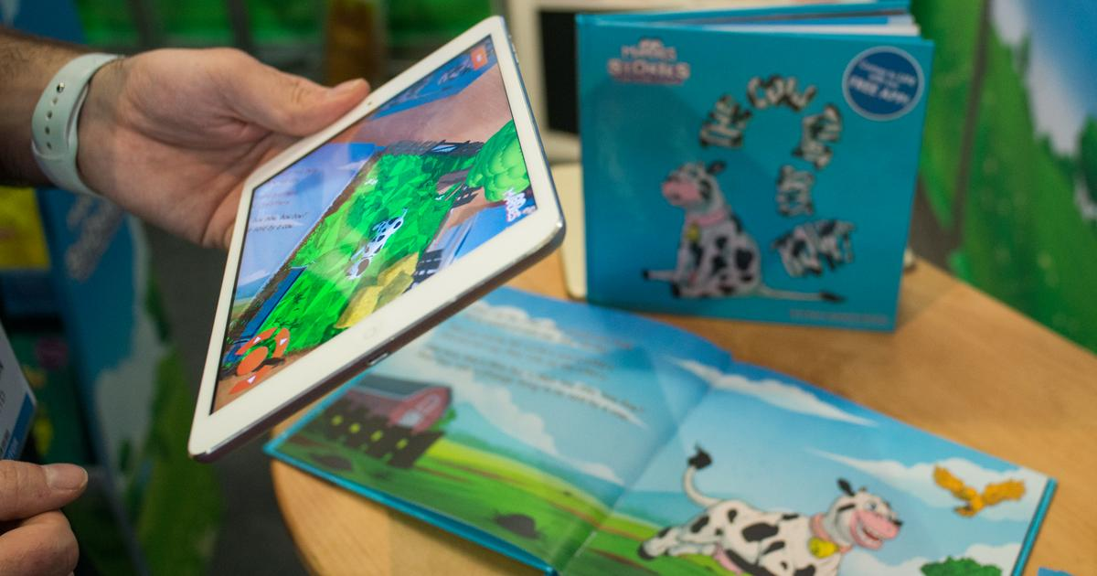 Hands-on: Mardles storybooks pop up with augmented reality