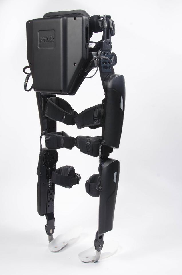 Like the previous ReWalk exoskeletons, the new Personal 6.0 model is worn outside the clothing, and is attached to the user via leg braces and a harness
