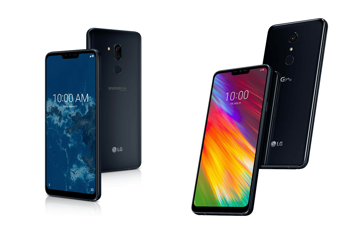 LG has unveiled two new mid-range phones, the G7 One and the G7 Fit