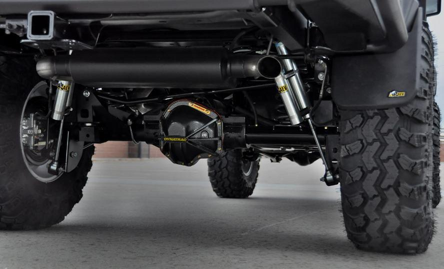 AEV builds a variety of parts and accessories designed specifically for the Wrangler