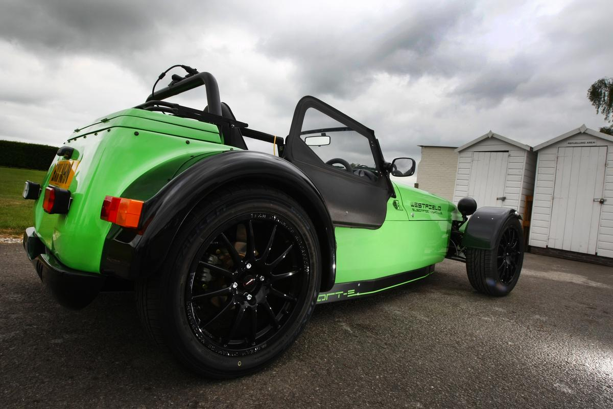 The Westfield Sport E - can go from zero to 60 mph in about seven seconds and has a top speed of 100 mph