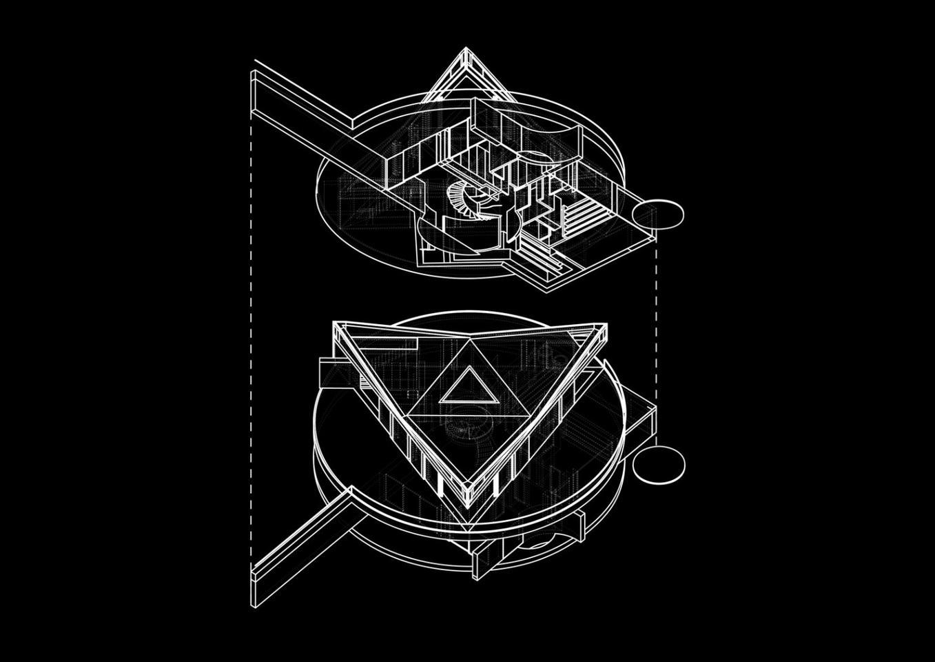 An axiomatic diagram of the Devon House