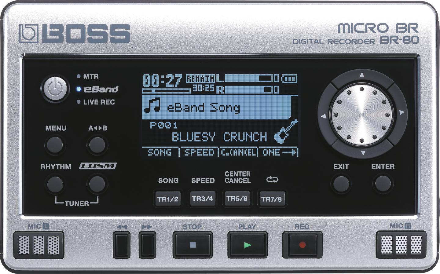 Roland reveals new BOSS MICRO BR BR-80 pocket-sized
