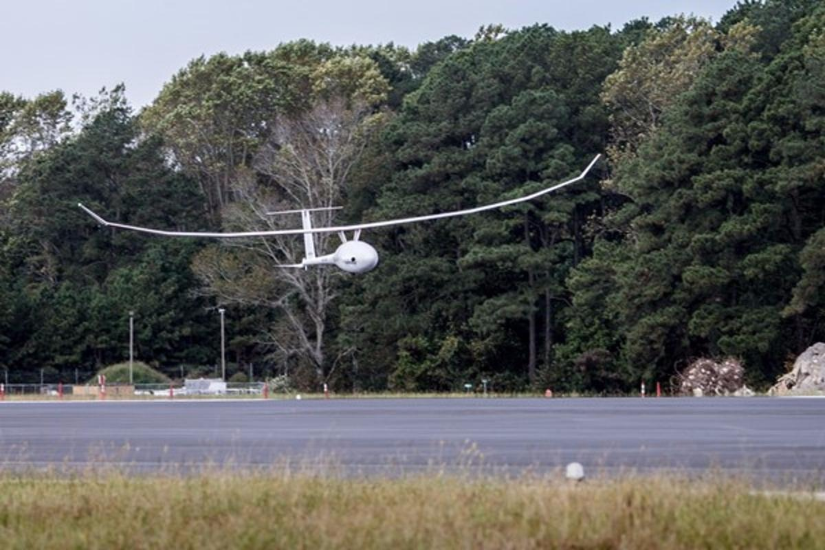 The VA001 lands back at NASA Wallops after 121 hours, 24 minutes in the air