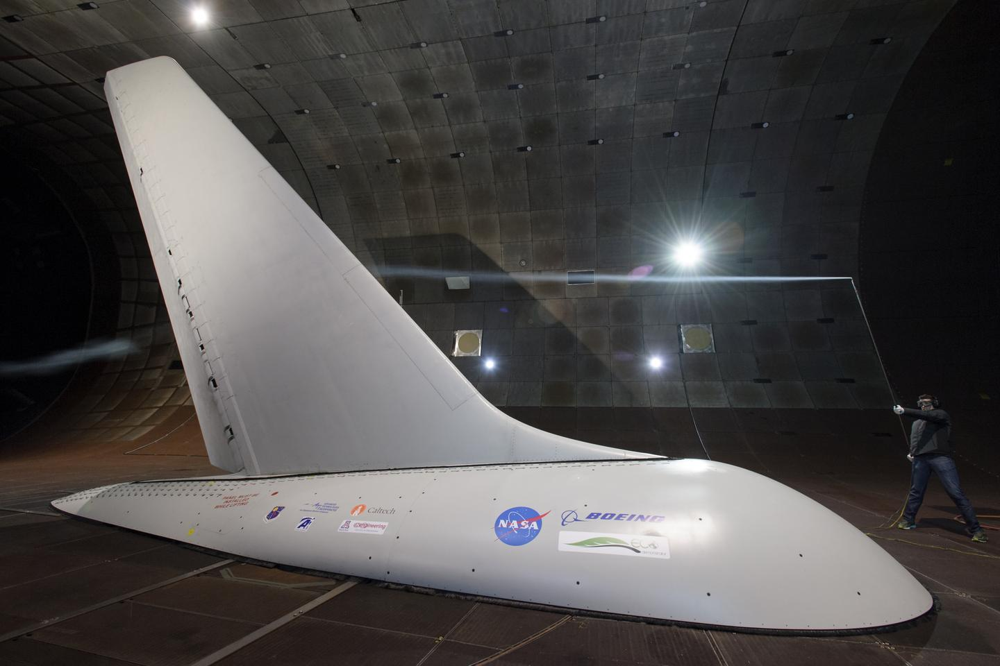 One of the innovations under the ERA would allow aircraft to be built with smaller tail fins, by integrating tiny air nozzles in the structure that allow for increased control with a smaller surface area