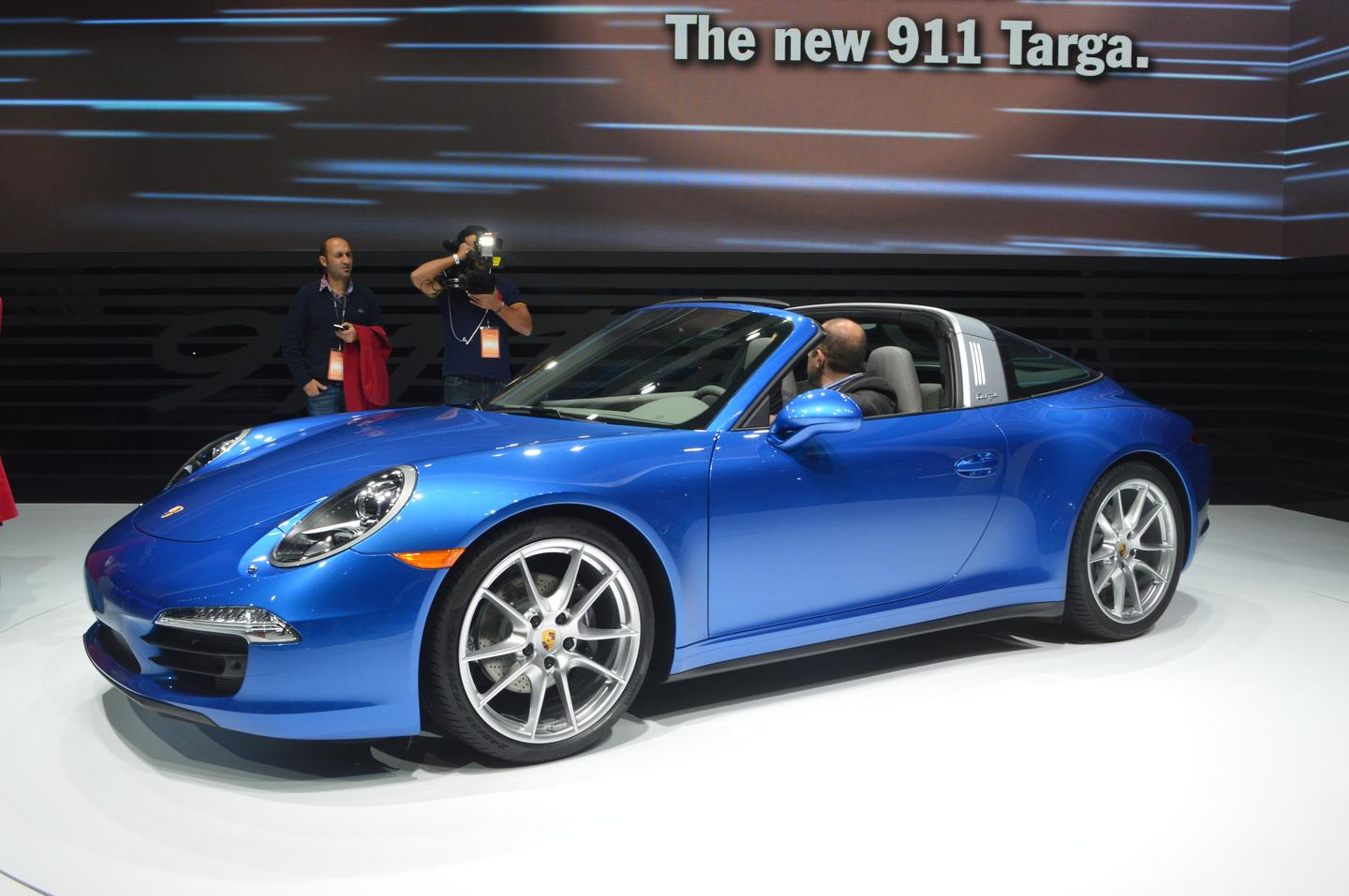 The Porsche 911 Targa goes on sale in May (Photo: Gizmag.com)