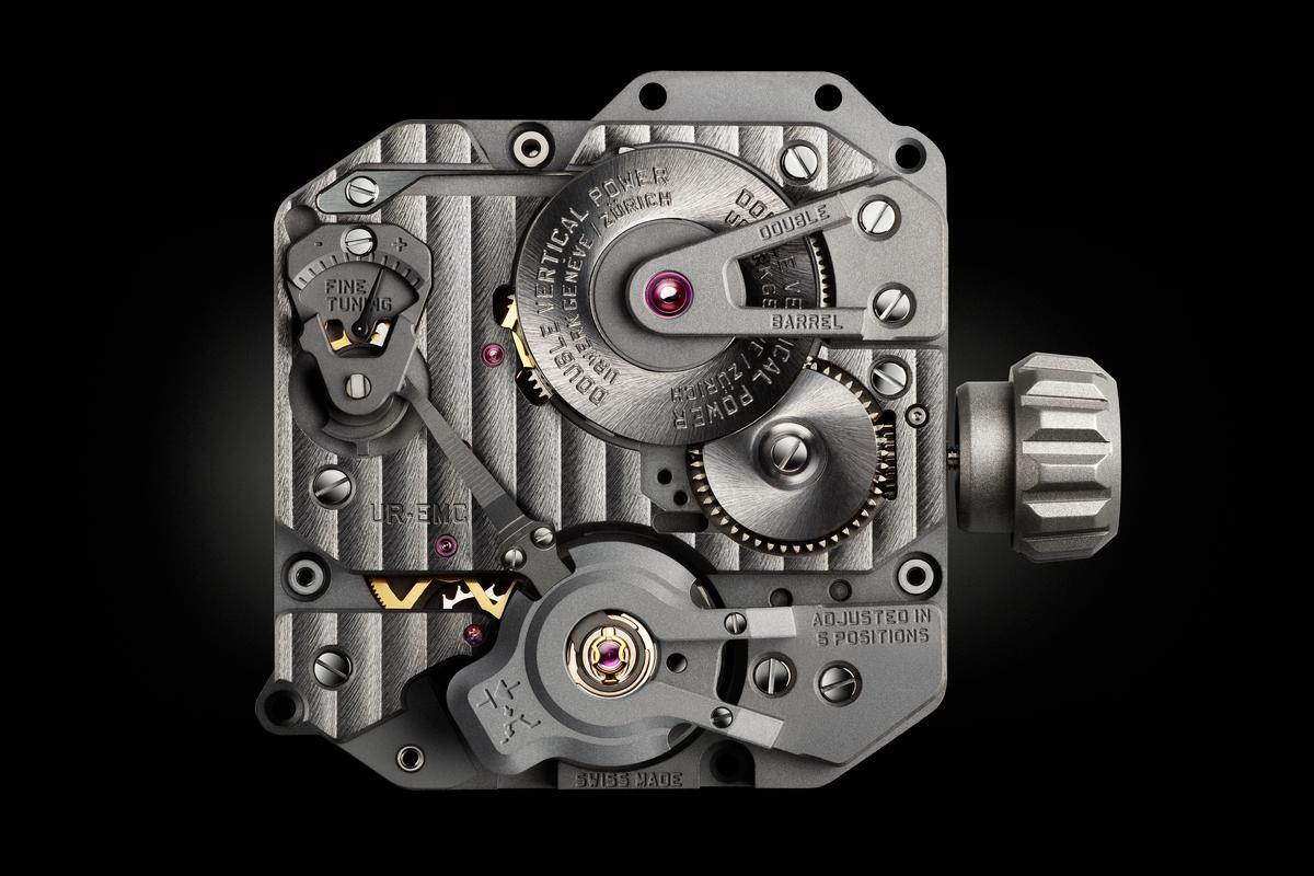 Urwerk is calling its latest project in development, the EMC, the first mechanical timepiece with integrated intelligence