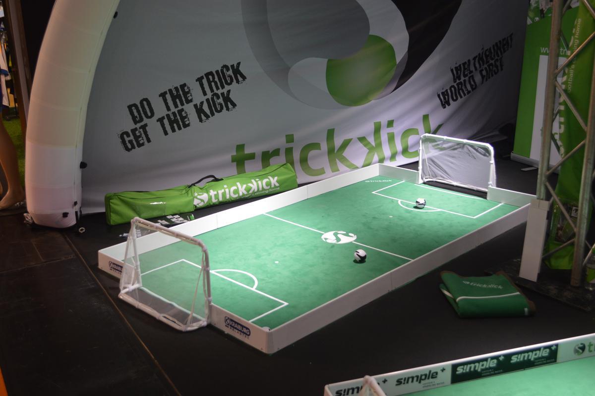 Trick Kick challenges mini-footballers to go head to head