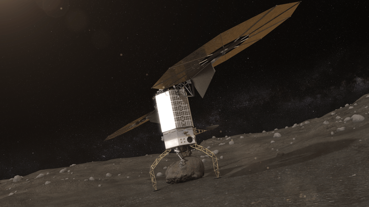 Asteroid Redirect Vehicle landing (Image: NASA)
