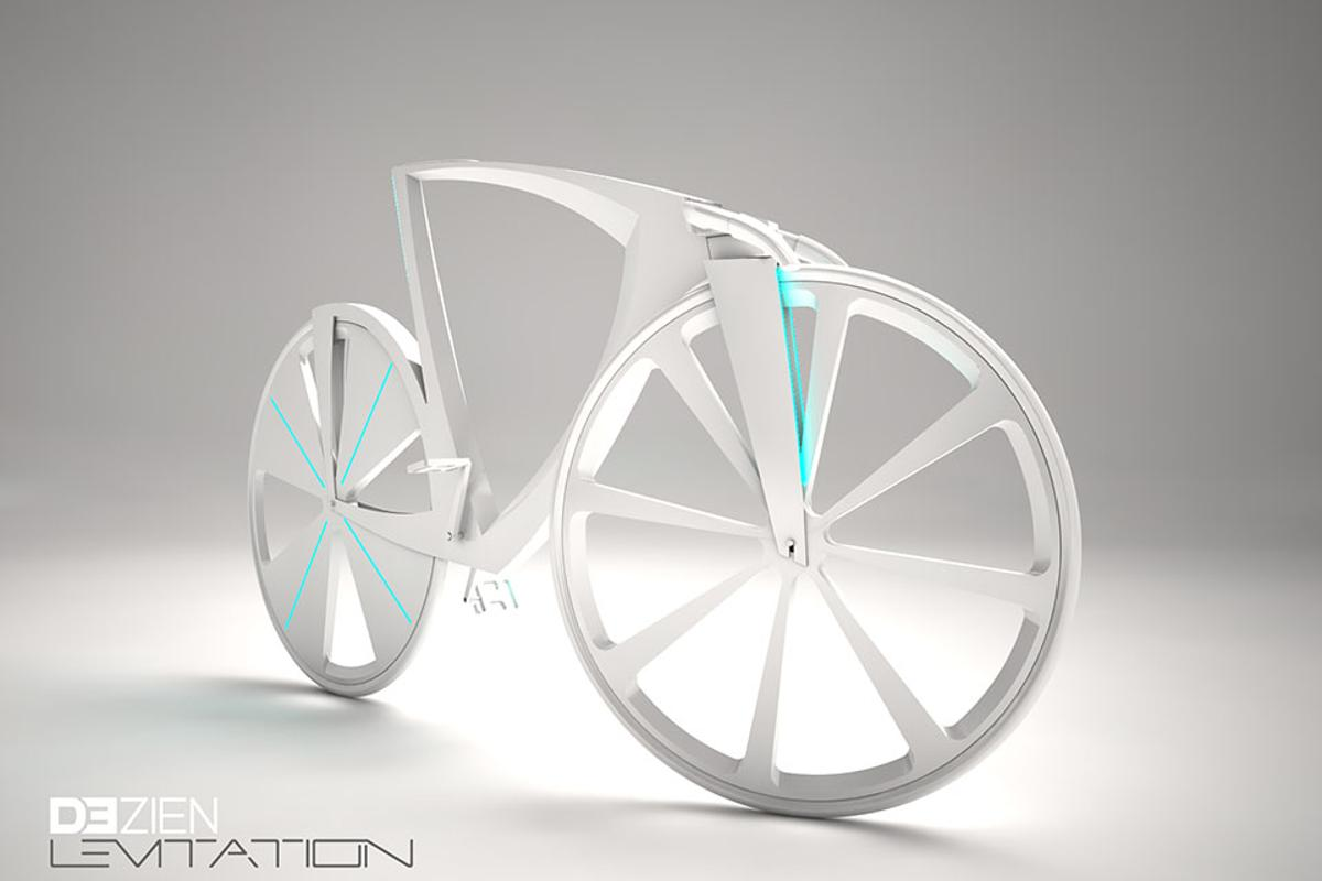 Dezien's Levitation concept bicycle