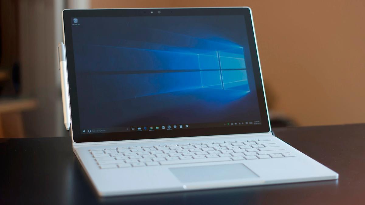 The Windows 10-running Surface Book