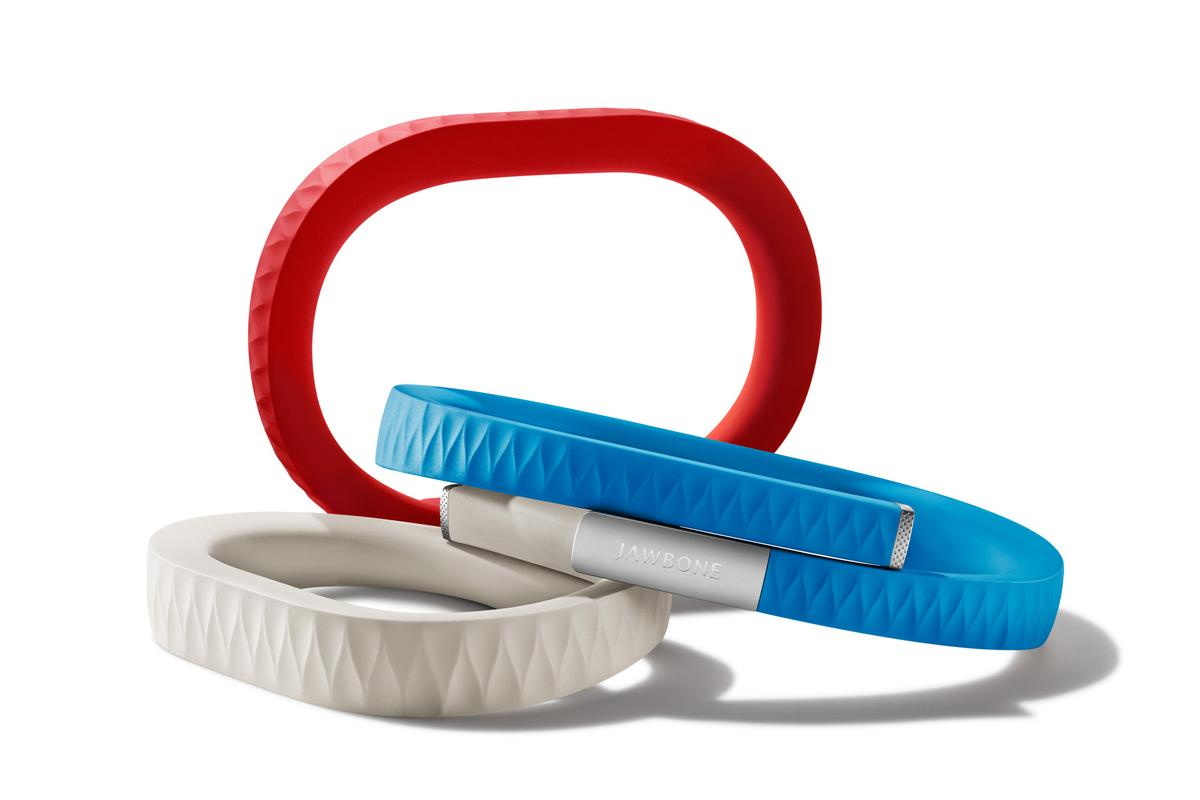 Jawbone UP health and activity monitor