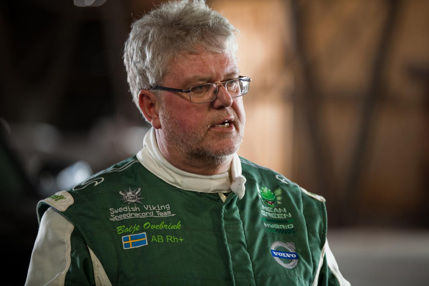 Boije Ovebrink 'Mean Green's driver and owner