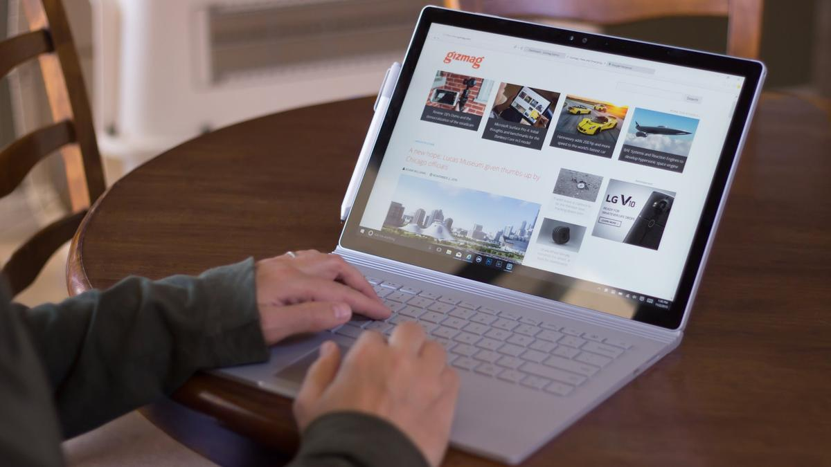 Gizmag reviews Microsoft's outstanding (first) laptop, the Surface Book