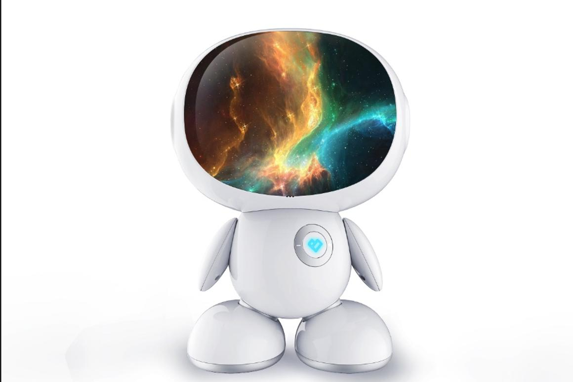 The Honeybot robot uses 3D Augmented Reality to teach kids ages 3-8