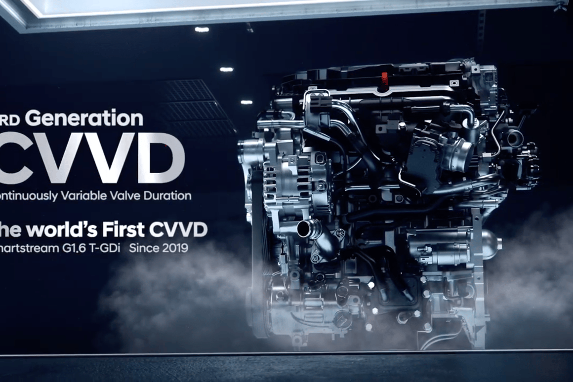 """Hyundai/Kia have announced what they term the """"world's first continuously variable valve duration"""" system"""