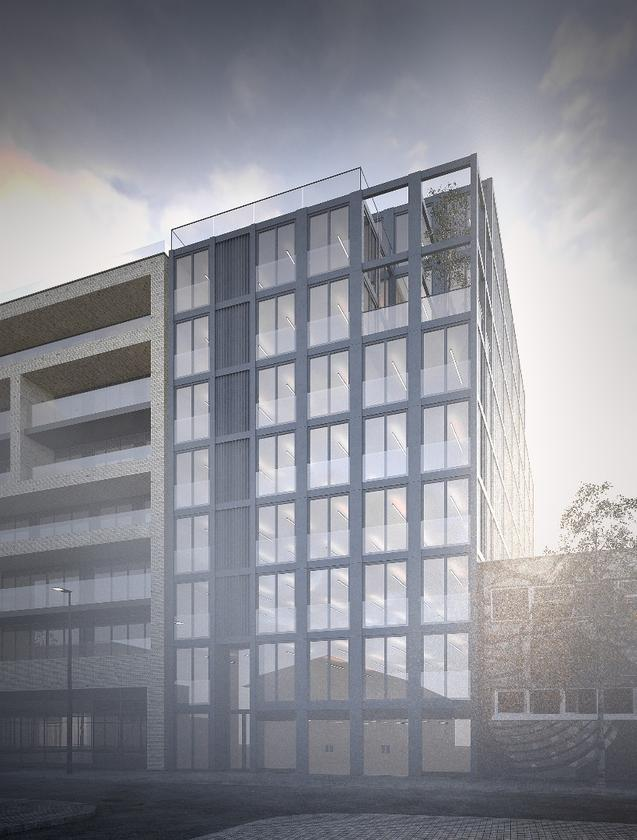 118 VR will be tallerthan thecurrent world's tallest shipping container building, the Freitag Store in Zurich