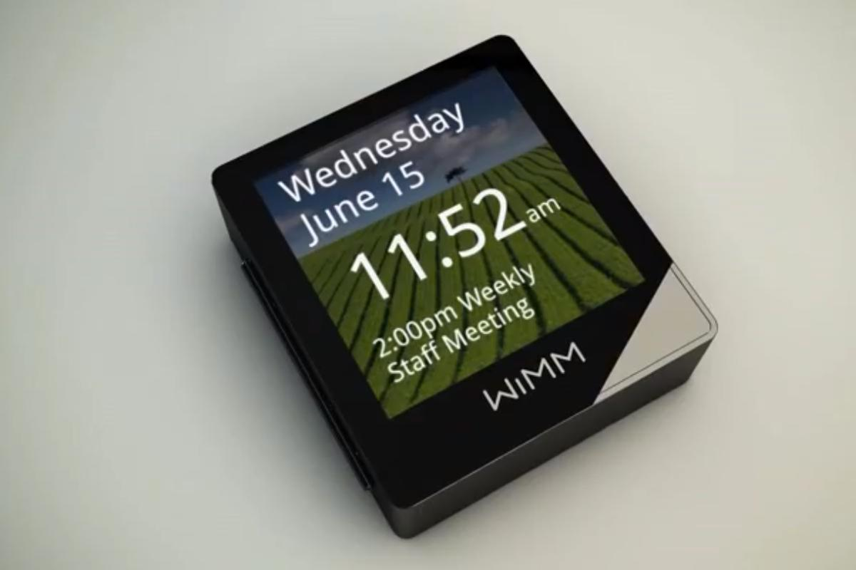 The WIMM Platform is designed as a turnkey solution for wearable computing applications