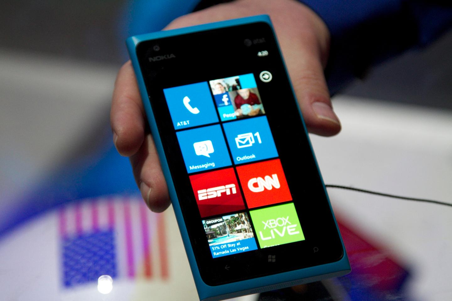 "The Nokia Lumia 900 will launch exclusively through AT&T in the ""coming months"""