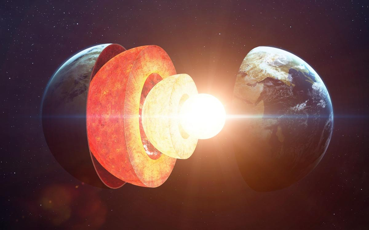 A new study dates the Earth's inner core to just 565 million years old – much younger than the 4.5-billion year old planet