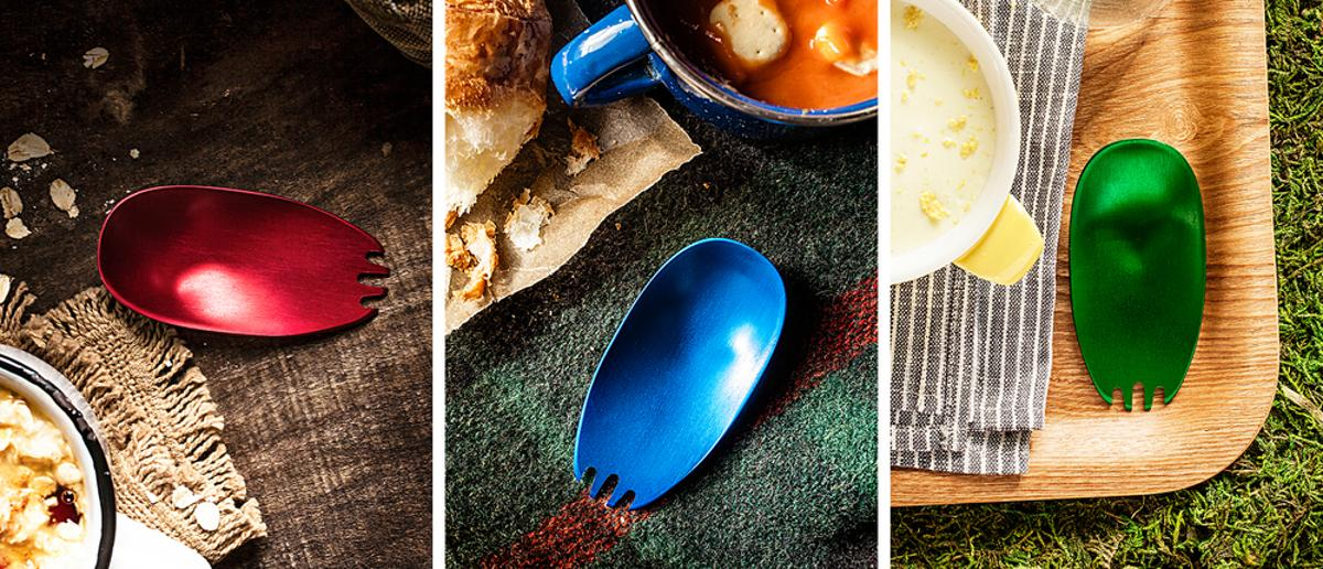 The Kuma is a new spork that's designed to be as small and portable as possible