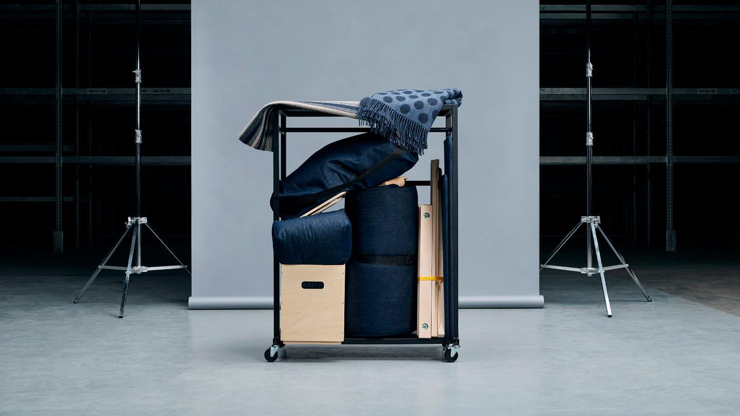The Råvaror series will include a collection of everyday furniture pieces that are specifically designed for small spaces