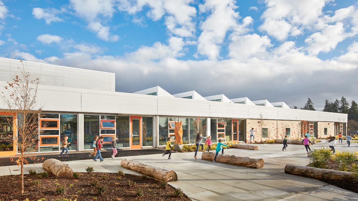Arlington Elementary School was designed byMahlum Architects