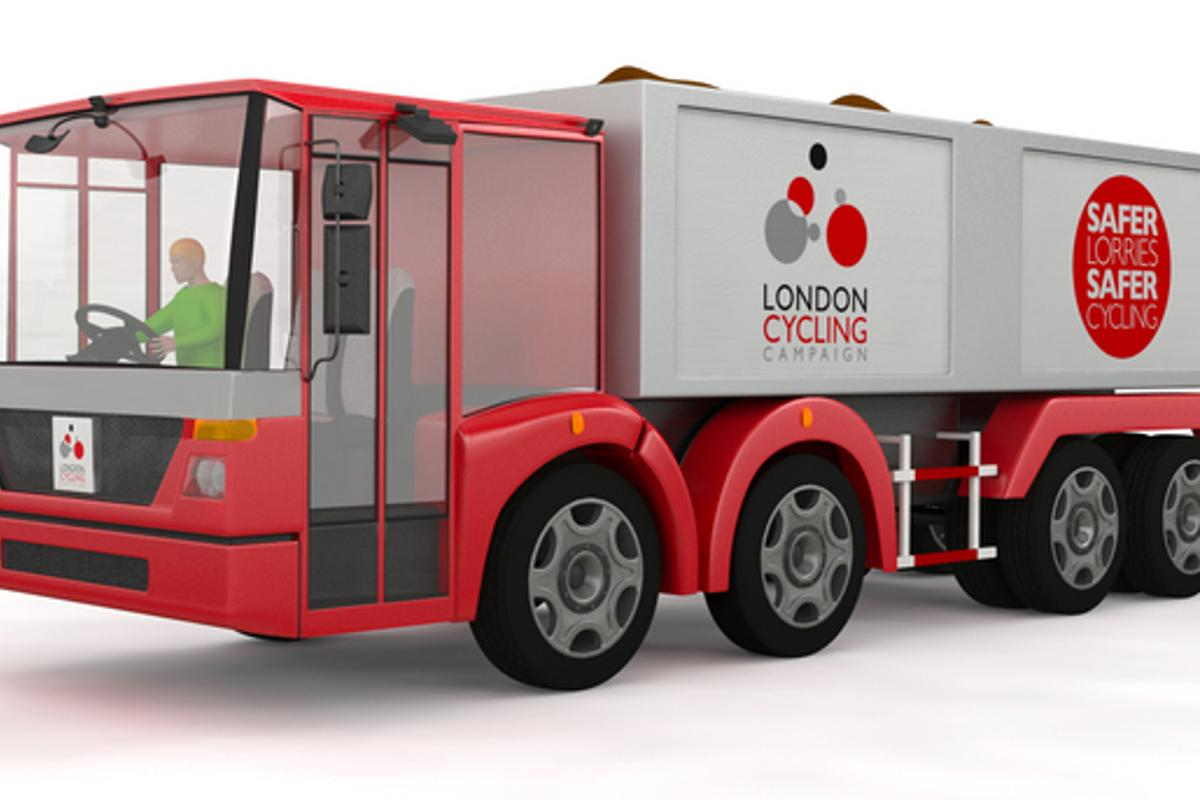 The London Cycling Campaign has released details of a lorry design overhaul that helps make cyclists more visible to drivers