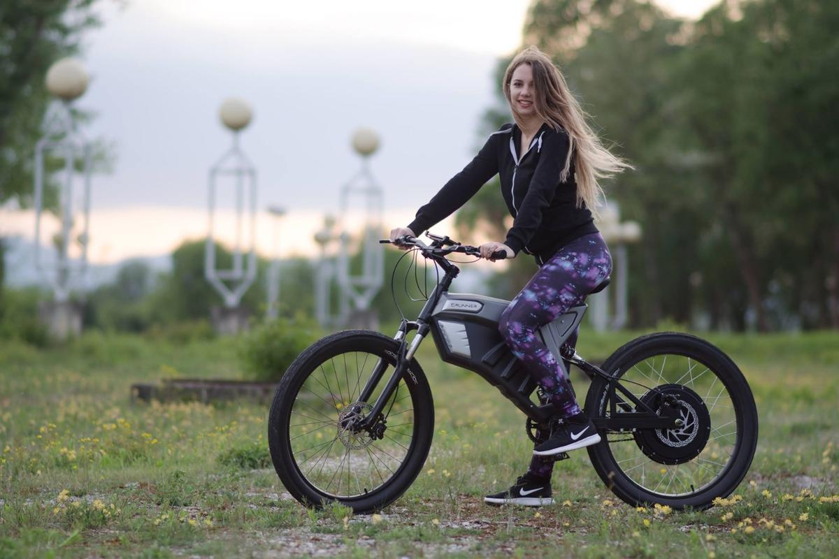 The Grunner e-bike has up to 2.2 kW of power