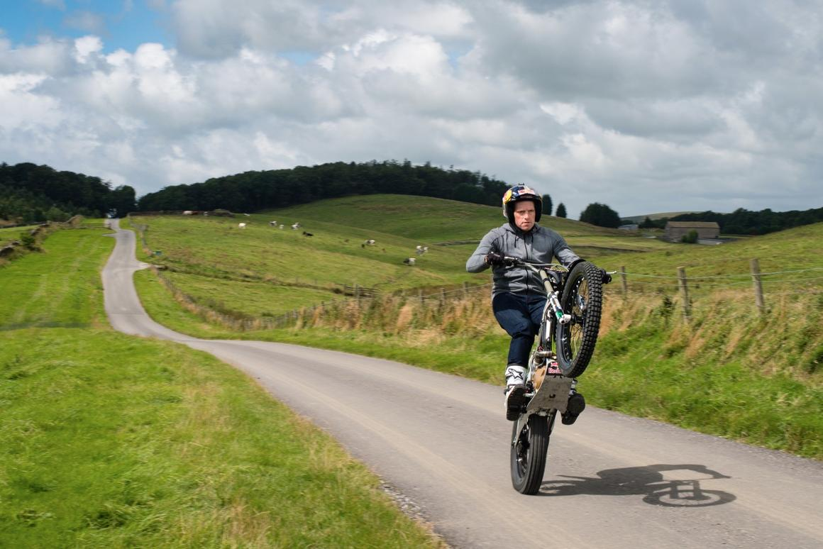 British trials motorcycling superstar Dougie Lampkin is planning to wheelie the entier way around the storied Isle of Man TT course