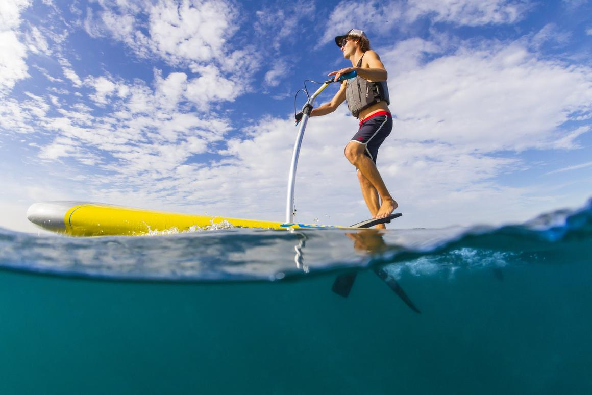 The Hobie Mirage Eclipse will become available later this US spring