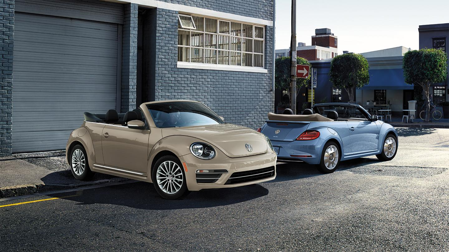 """For the Final Edition offerings, the Beetle will look back to its last """"final hurrah"""" in 2003 when it was temporarily discontinued in the """"Ultima Edicion"""""""