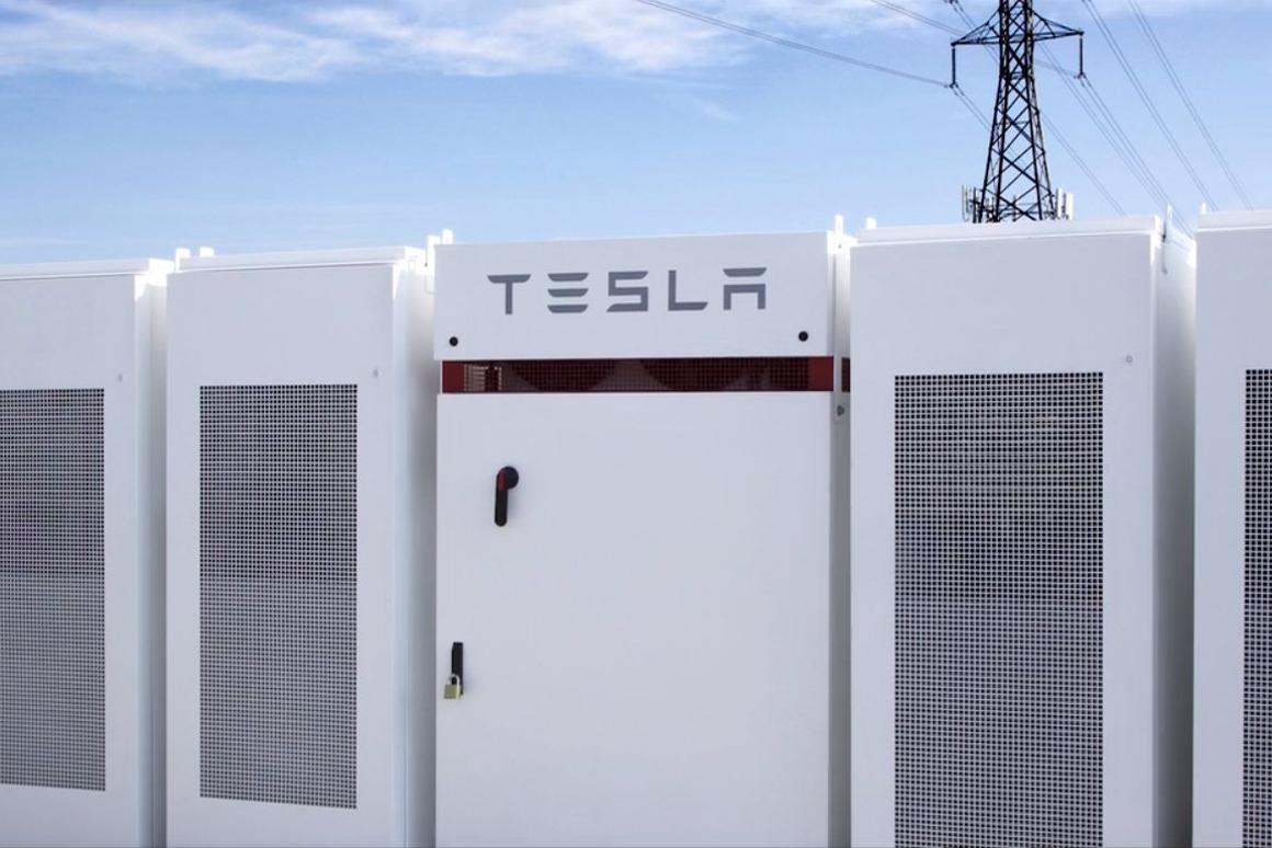 The 129 MWh Powerpack system is the largest Li-ion battery storage project in the world