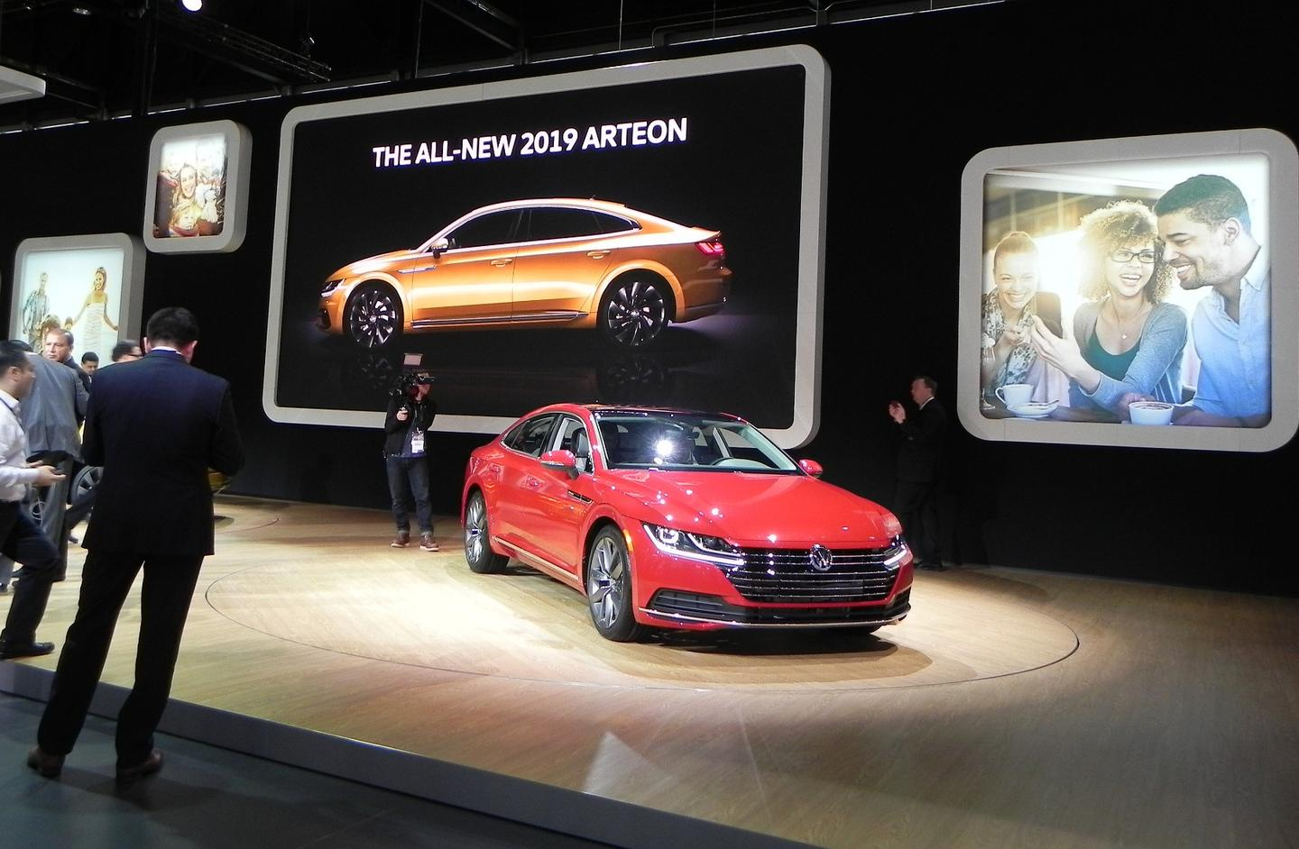 "The Arteon is meant to ""shape the brand,"" says Volkswagen, and carries the premium styling and interior accoutrements to make that happen"