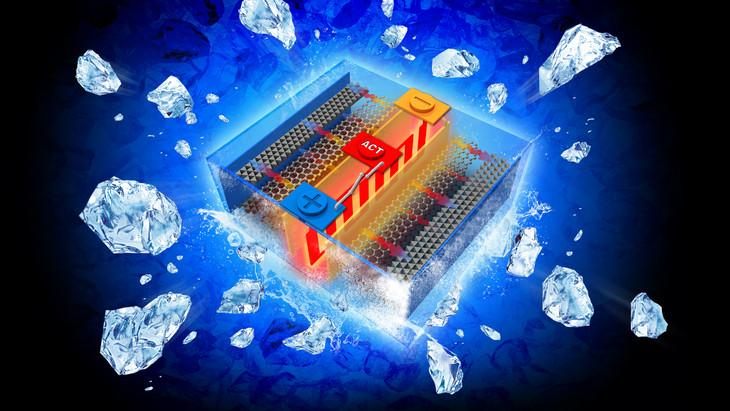 The all-climate battery rapidly self-heats in cold environments