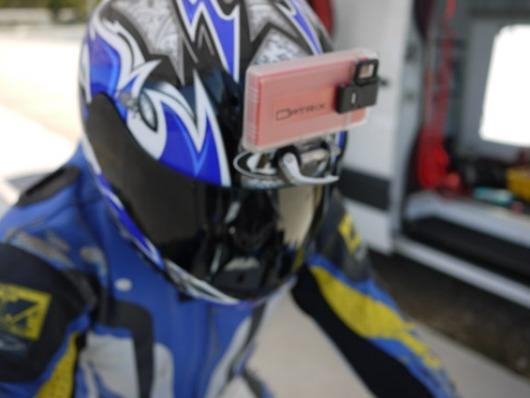The Optrix HD lets you mount your iPhone to your helmet or sports vehicle