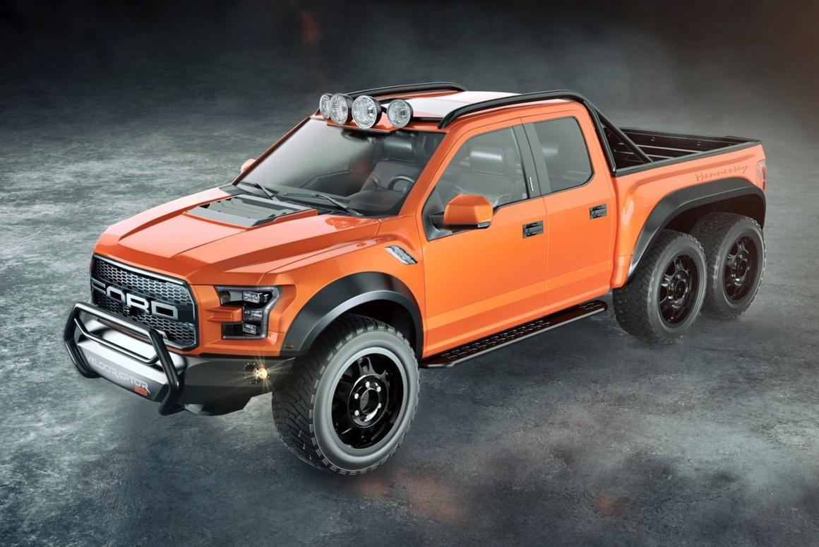 Ford Raptor Hennessey >> Hennessey Adds More Wheels And More Horses To Ford Raptor