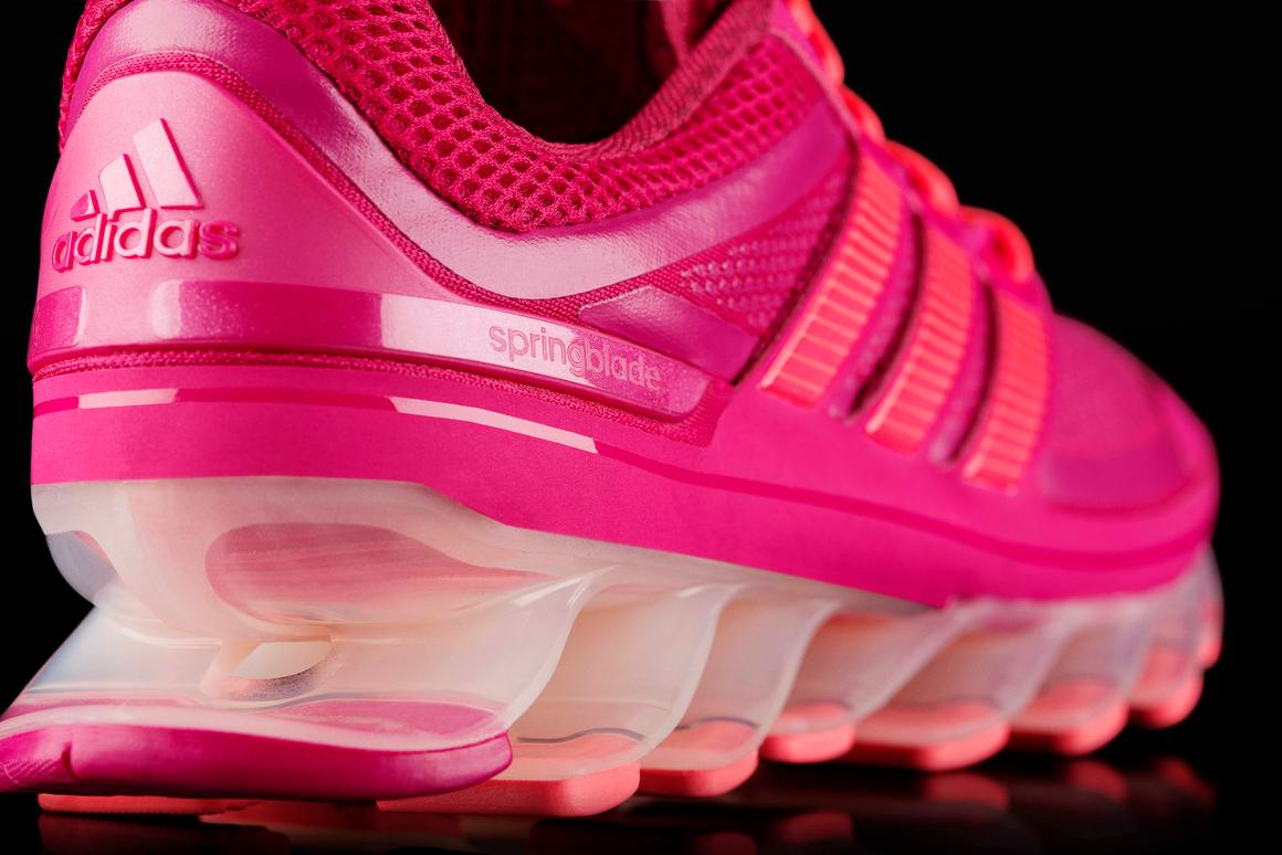 quality design fe4ce 31fac Adidas Springblade running shoes put a spring in your step
